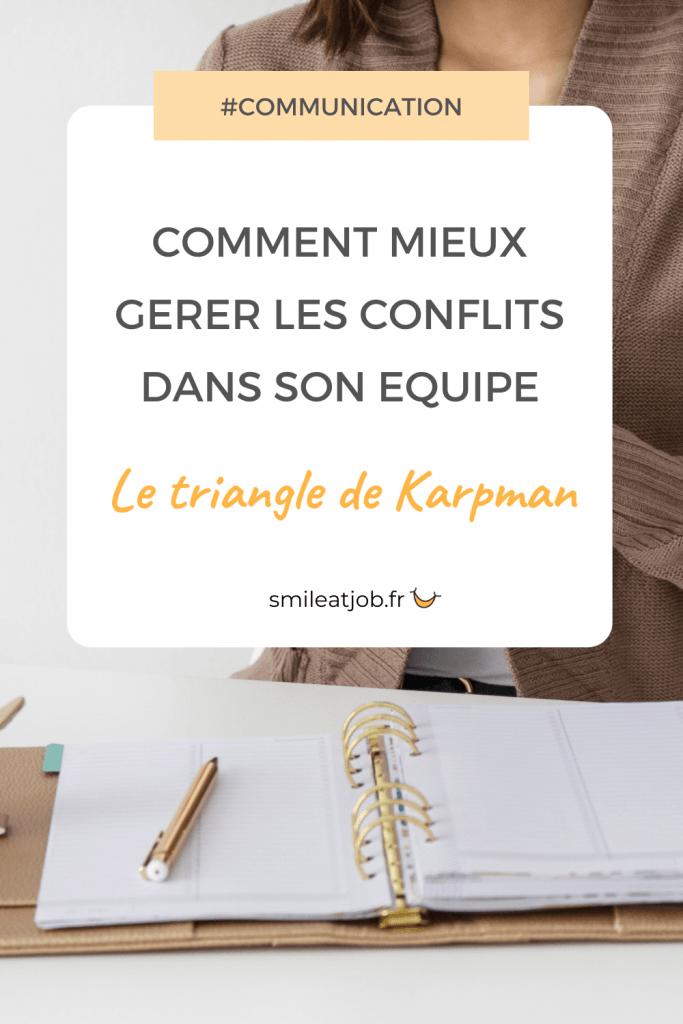 triangle karpman gerer des conflits manager 2