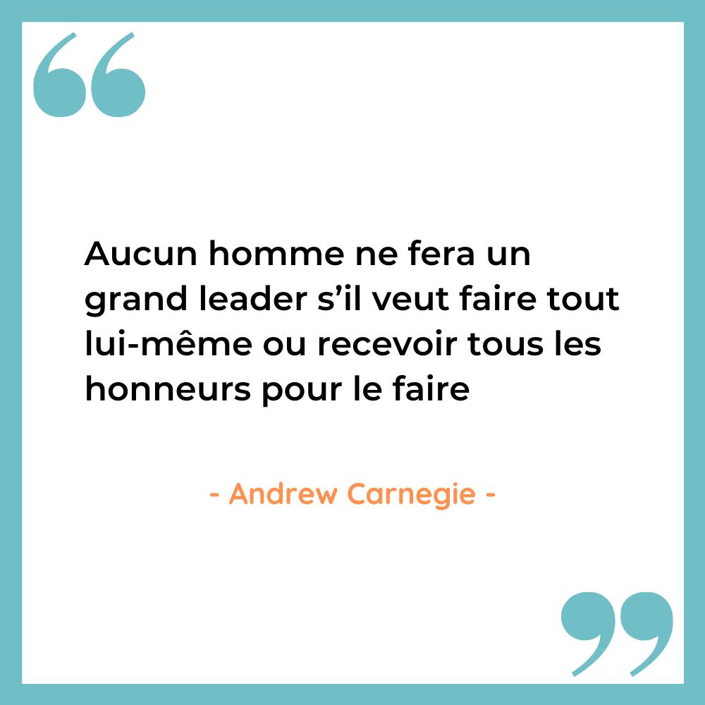 citation leadership Andrew Carnegie